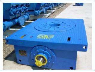 custom sprockets rotary tables